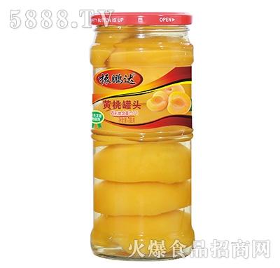 700g振鹏达黄桃罐头