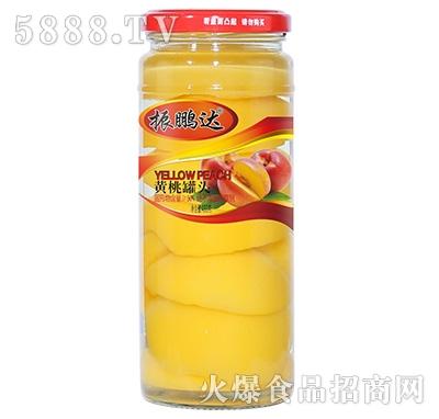 480g振鹏达黄桃罐头