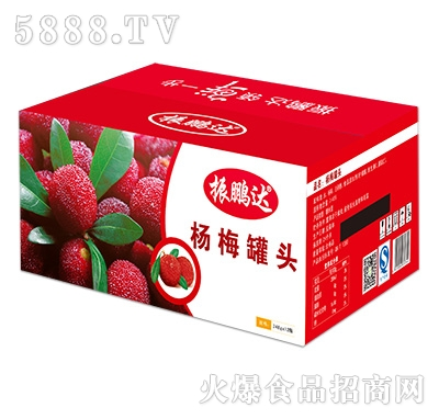 248gx12瓶杨桃罐头彩箱