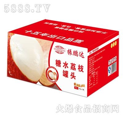 248gx12瓶荔枝罐头彩箱