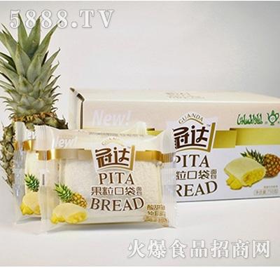 冠达果粒芝麻面包750g四川小野口袋图片