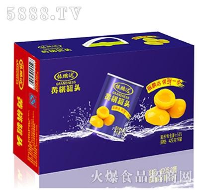 425克黄桃x8罐外箱