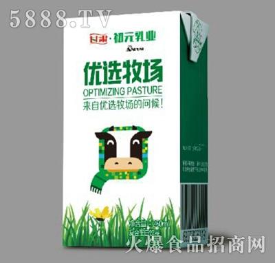 初元乳业优选牧场复合蛋白饮品250ml