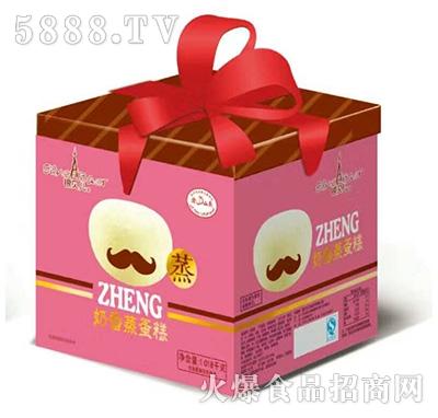 银贝尔奶香蒸蛋糕礼盒