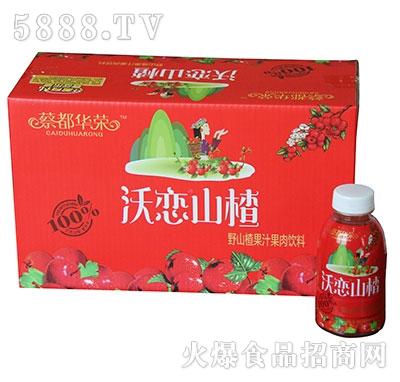 蔡都华荣沃恋山楂野山楂果汁果肉饮料组合装