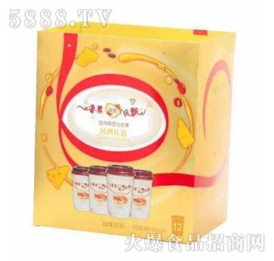 香票奶茶经典礼盒12罐