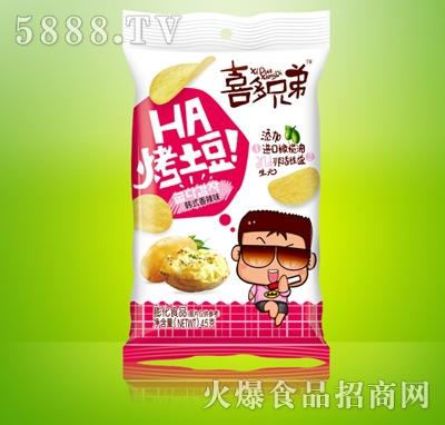 喜多兄弟烤土豆韩式香辣味45g
