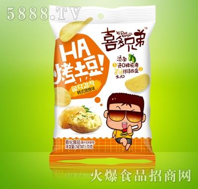 喜多兄弟烤土豆韩式烧烤味70g