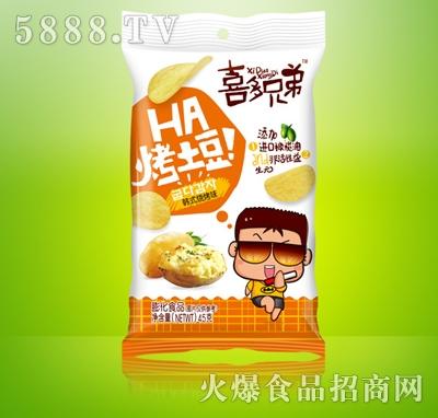 喜多兄弟烤土豆韩式烧烤味45g
