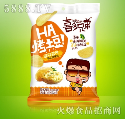 喜多兄弟烤土豆韩式烧烤味20g