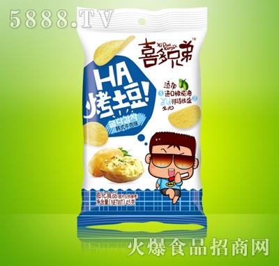 喜多兄弟烤土豆韩式牛肉味45g