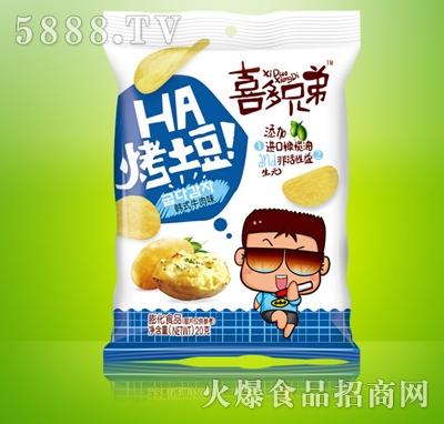 喜多兄弟烤土豆韩式牛肉味20g