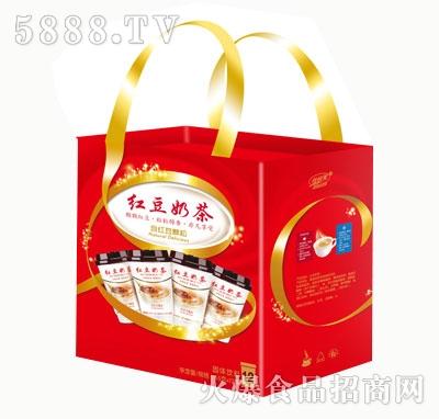 佳因美奶茶礼品盒产品图