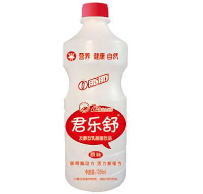 君乐舒原味发酵型乳酸菌饮品1.25L