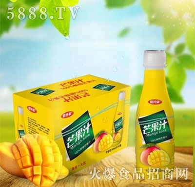 新的浓缩果汁芒果汁500ml