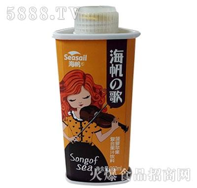 海帆菠萝苹果复合果汁饮料360ml