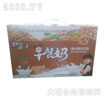 致天然早餐奶250mlx24盒