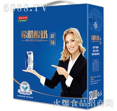 青岛中科希腊酸奶200mlx12盒