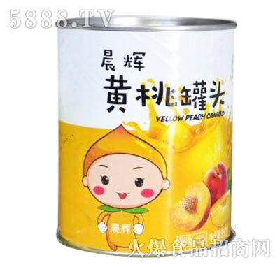晨辉黄桃罐头850g