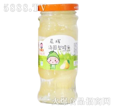 晨辉汤圆梨罐头