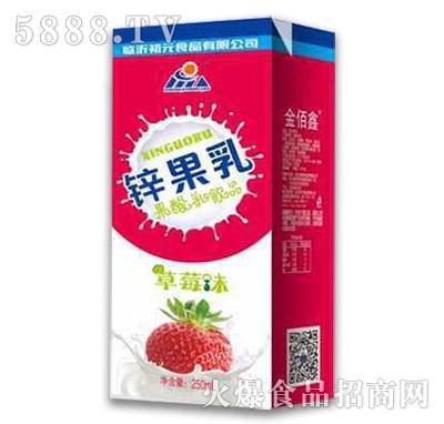金初元果酸乳饮品草莓味250ml