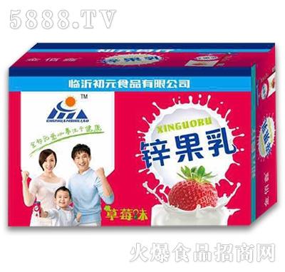 金初元果酸乳饮品草莓味手提箱