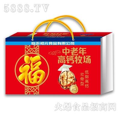 初元食疗中老年高钙牧场奶礼盒