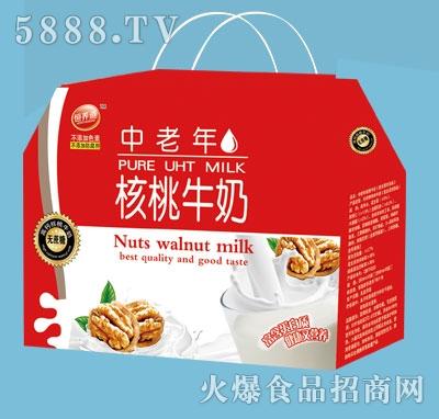 恒养道中老年核桃牛奶礼盒