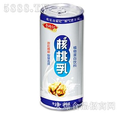 奇福记核桃乳植物蛋白饮料240ml
