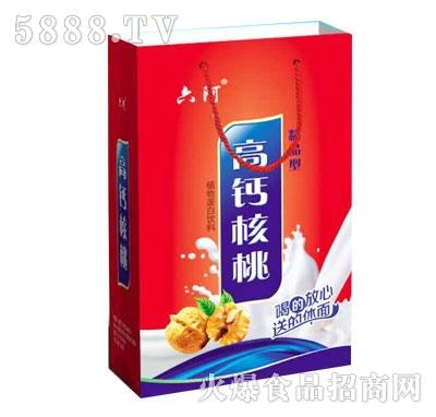 240ml六阿高钙核桃植物蛋白饮料手提袋