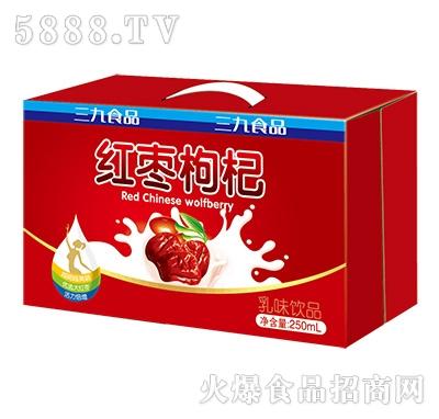 三九穆朗红枣枸杞乳味饮品箱装