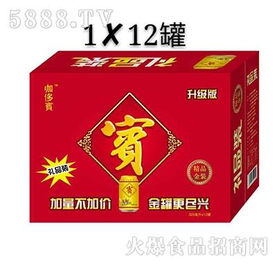 金罐凉茶礼品装320mlx12罐