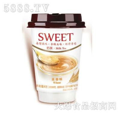 佳因美高杯麦香味奶茶(80克)产品图