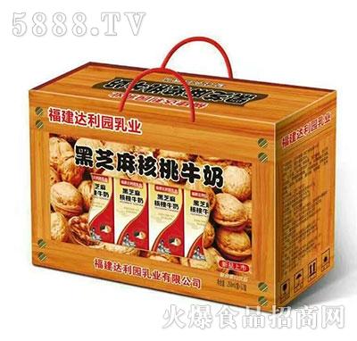 250mlx12盒黑芝麻核桃牛奶