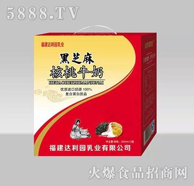 250mlx12盒黑芝麻核桃牛奶礼盒