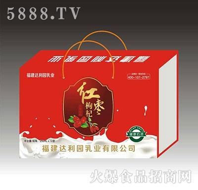 达利园m250mlx12盒红枣枸杞