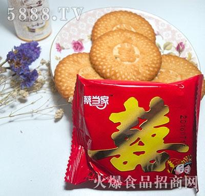 蔡当家喜庆饼干袋