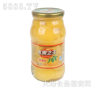 水果之王黄桃罐头