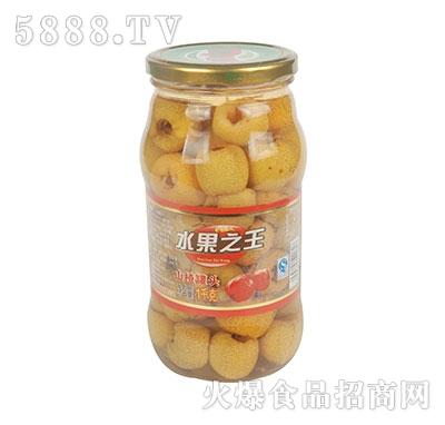 水果之王山楂罐头