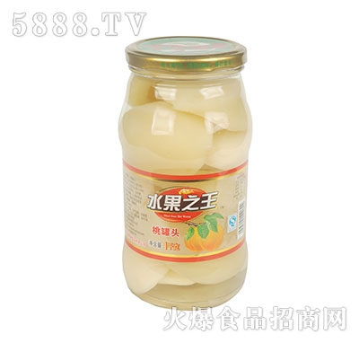 水果之王桃罐头