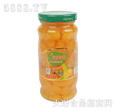 真美味桔子罐头