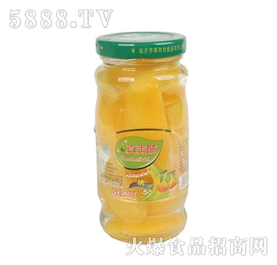 真美味桃罐头