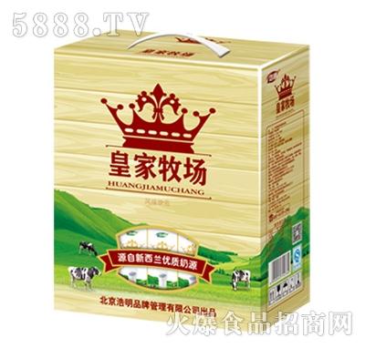 1x12盒浩明皇家牧场乳味饮品(木纹)