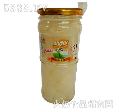 晶海糖水椰果罐头700克
