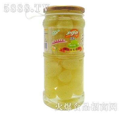 晶海糖水葡萄罐头700克