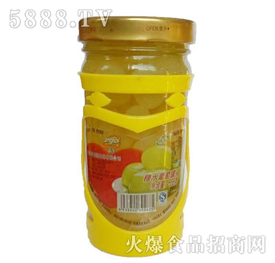 晶海糖水葡萄罐头555克