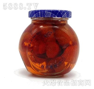 晶海糖水山楂罐头255克