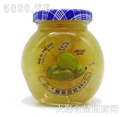 晶海糖水葡萄罐头255克