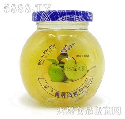 晶海糖水苹果罐头255克