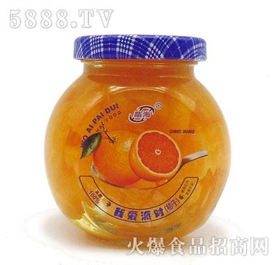 晶海糖水桔子罐头255克